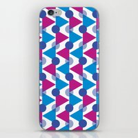 bows iPhone & iPod Skins featuring Bows by Emely Vertiz