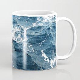 A beautiful sailboat in the open ocean Coffee Mug