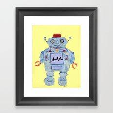 Robot Robotic! Framed Art Print