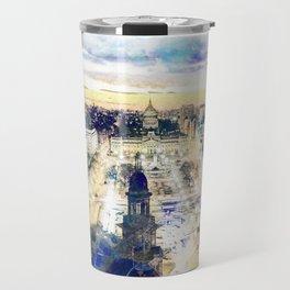 Buenos Aires watercolor Travel Mug