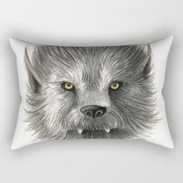 Werewolf beast Rectangular Pillow