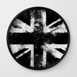 UK flag White Wall Clock