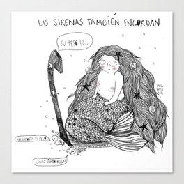 La Sirena  Canvas Print