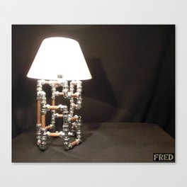 Articulated Desk Lamps - Copper and Chrome Collection - FredPereiraStudios_Page_13 Canvas Print