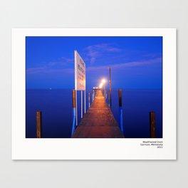 Wealthwood Dock Canvas Print