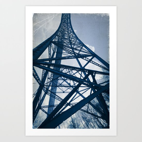 Steel Tower Art Print