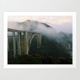 Bixby Bridge, Big Sur, California (landscape) Art Print