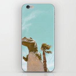 Pastel T-Rex iPhone Skin