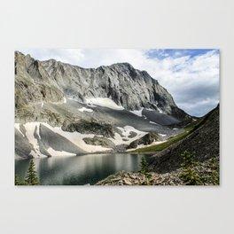 Crestone Peak - Upper South Colony Lake Canvas Print