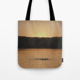 Last Swim Tote Bag