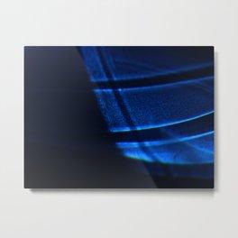 The Blue Light V Metal Print
