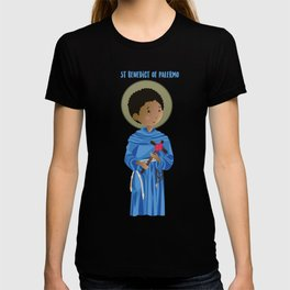 St.Benedict of Palermo T-shirt