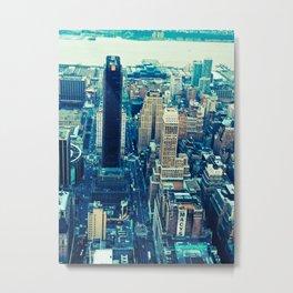 NEW YORK//COLOUR *2 Metal Print