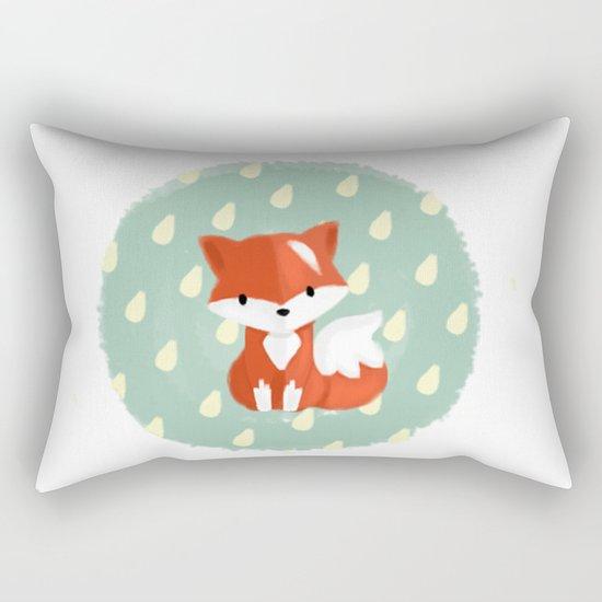 I'm a fox Rectangular Pillow