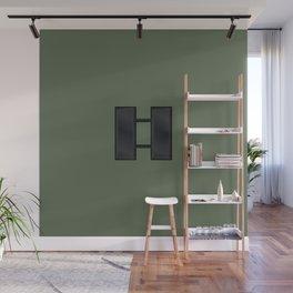 Captain (Green) Wall Mural