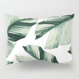 Tropical Banana Leaves Vibes #1 #foliage #decor #art #society6 Pillow Sham