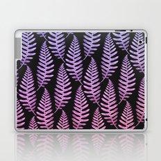 Multi Color Leaves (Black) Laptop & iPad Skin