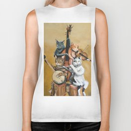 Cat Quartet Biker Tank