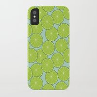lime iPhone & iPod Cases featuring lime by Tanya Pligina
