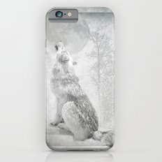 Wolf howl at the Moon Slim Case iPhone 6s