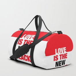 LOVE is the new black IV – Plain Duffle Bag