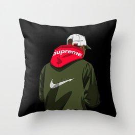 Supreme X Nikee Throw Pillow