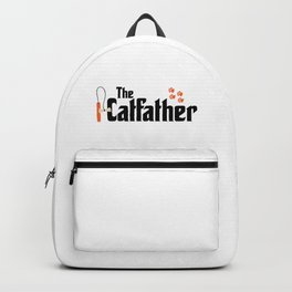 The Catfather - Cat Father Pussycat Meow Backpack