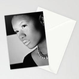diamonds from sierra leone Stationery Cards