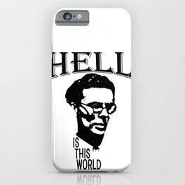 Hell Is This World | Aldous Leonard Huxley iPhone Case