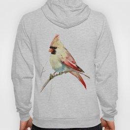 Northern Cardinal (female Cardinal bird) Hoody