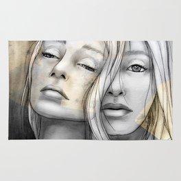 """Reflection II"" by carographic Rug"