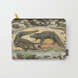 Reptiles Poster Vintage Carry-All Pouch