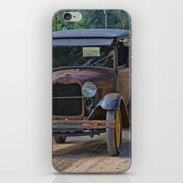 Rusty Pickup Shiny Car iPhone Skin