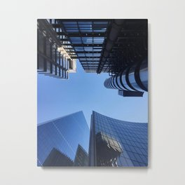 London City Sky Metal Print
