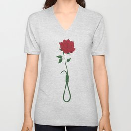 Love and Death Unisex V-Neck