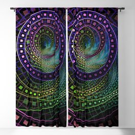 The Fractal Technicolor Rainbow of Oz the Great and Powerful Blackout Curtain