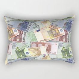 Art of the euro money Rectangular Pillow