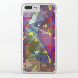 pattern 57 Clear iPhone Case