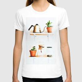 Plant Wall || #society6artprint #buyart T-shirt