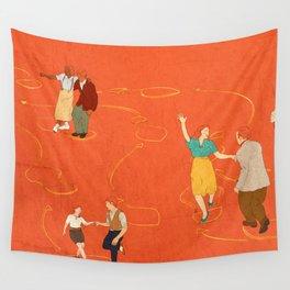 Sing, sing, sing! Wall Tapestry