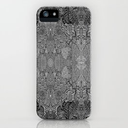 Modul-Textile II iPhone Case