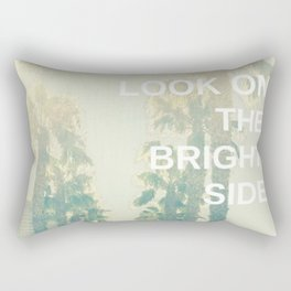 Look on the Bright Side Rectangular Pillow