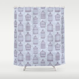 Birdcages Shower Curtain