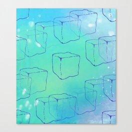 Ice Cube Chill Canvas Print