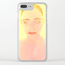 Summer queen Clear iPhone Case