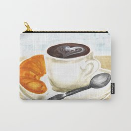Mochas outside on a cloudy day | By: Priscilla Li Carry-All Pouch