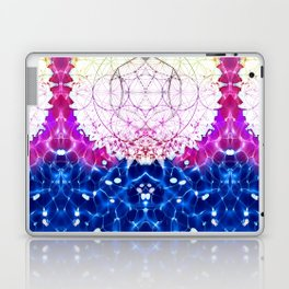 Flower of Life - Fractal Image Laptop & iPad Skin