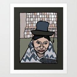 Peruvian Woman Art Print