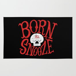 Born to Snooze Rug