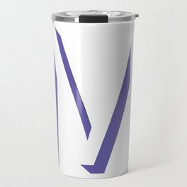 m is for melonie Travel Mug